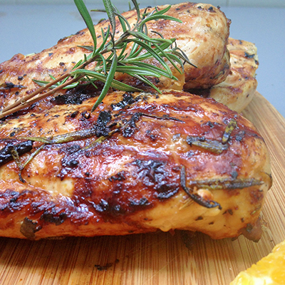 Spice rubbed chicken breast